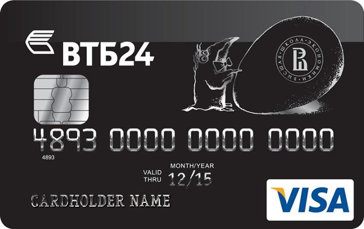 Кредитные карты ВТБ24